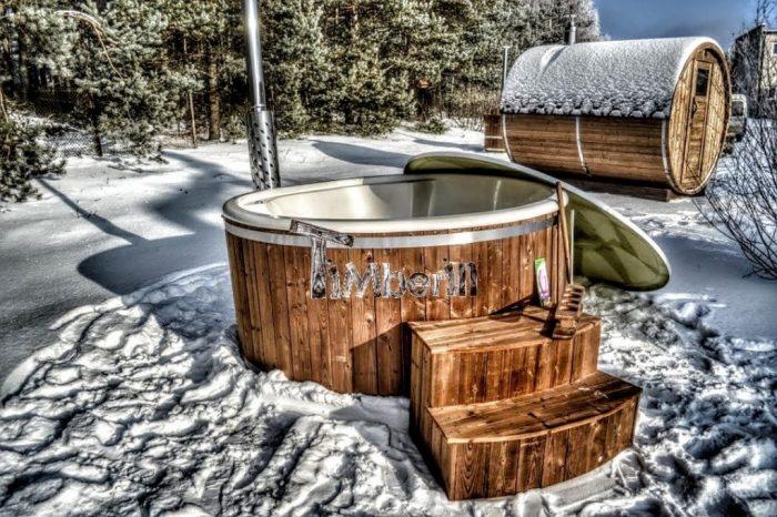 badestamp 4 personer vinter