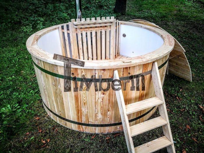 badestamp av plast Med innvendig ovn