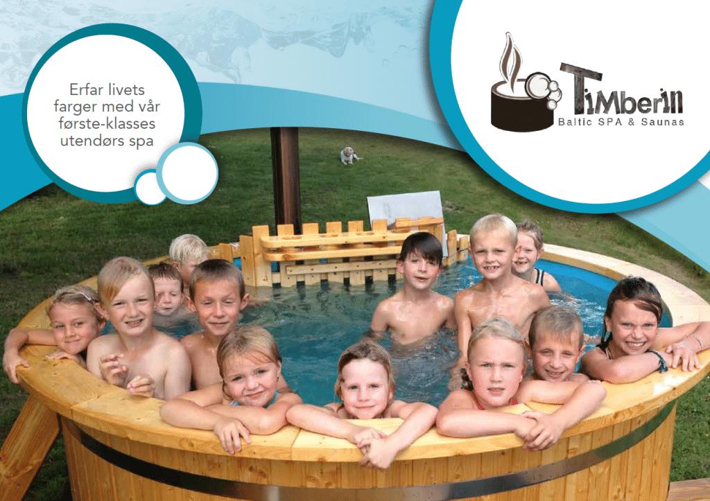 Utendørs badestamper og badstuer produktkatalog TimberIN