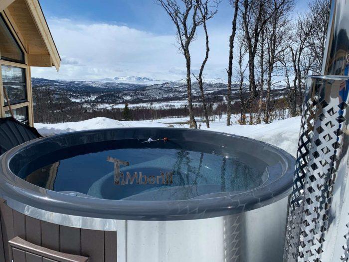 WELLNESS NEULAR SMART skandinavisk badestamp ingen vedlikehold nødvendig, Sveinung, Ål Kinnhovda, Norge